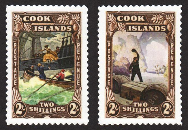 NCW Cook Islands Stamps