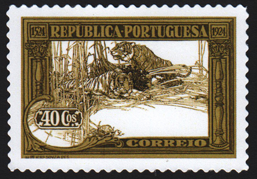 Tigers by Booth Stamp
